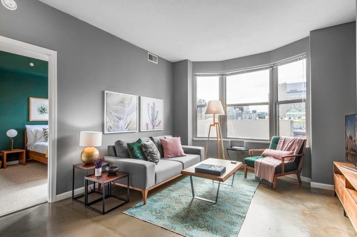 1 bedroom furnished apartment in The Ellington, 1301 U St NW 2, U Street, Washington D.C., photo 1