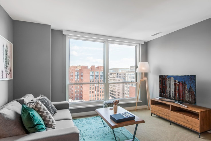1 bedroom furnished apartment in The Lansburgh, 425 8th St NW 5, Penn Quarter, Washington D.C., photo 1