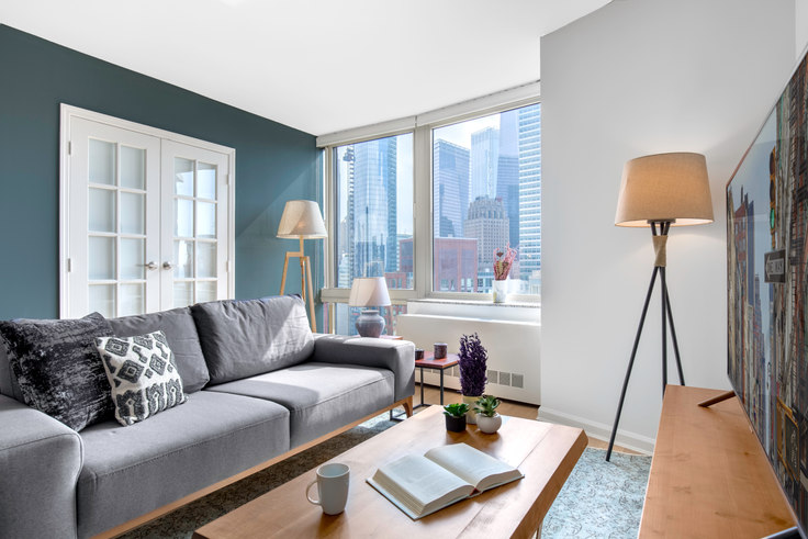 2 bedroom furnished apartment in Tribeca Park, 400 Chambers St 172, Tribeca, New York, photo 1