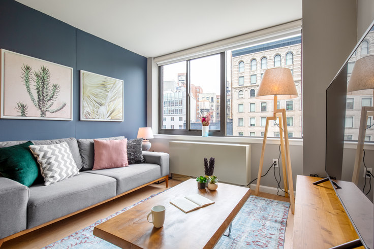 1 bedroom furnished apartment in 1 Union Sq S 178, Flatiron, New York, photo 1