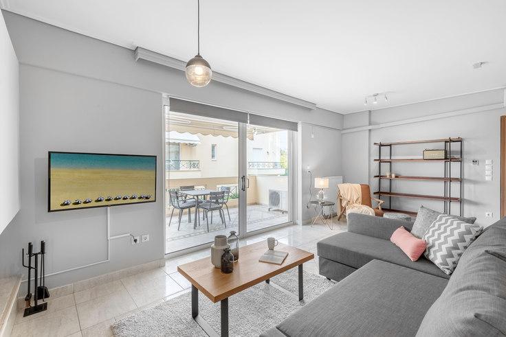 3 bedroom furnished apartment in Eleftheriou Venizelou I 538, Elliniko, Athens, photo 1