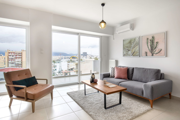 2 bedroom furnished apartment in Doganis Ι 539, Piraeus, Athens, photo 1