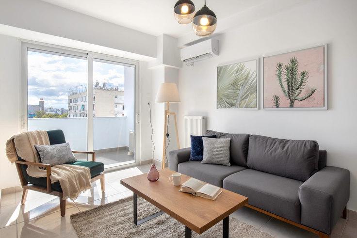 1 bedroom furnished apartment in Doganis II 541, Piraeus, Athens, photo 1
