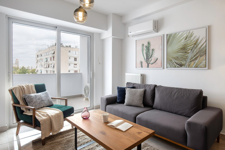 1 bedroom furnished apartment in Doganis IV 543, Piraeus, Athens, photo 1