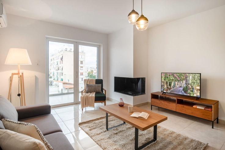 2 bedroom furnished apartment in Doganis V 544, Piraeus, Athens, photo 1