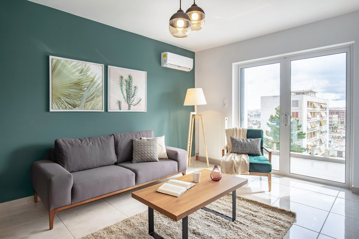 2 bedroom furnished apartment in Doganis VII 546, Piraeus, Athens, photo 1
