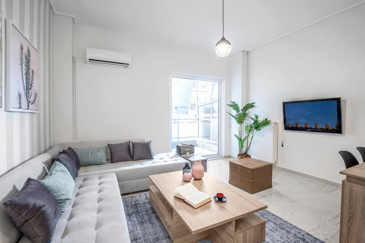 1 bedroom furnished apartment in Lazarimou 555, Ampelokipoi, Athens, photo 1