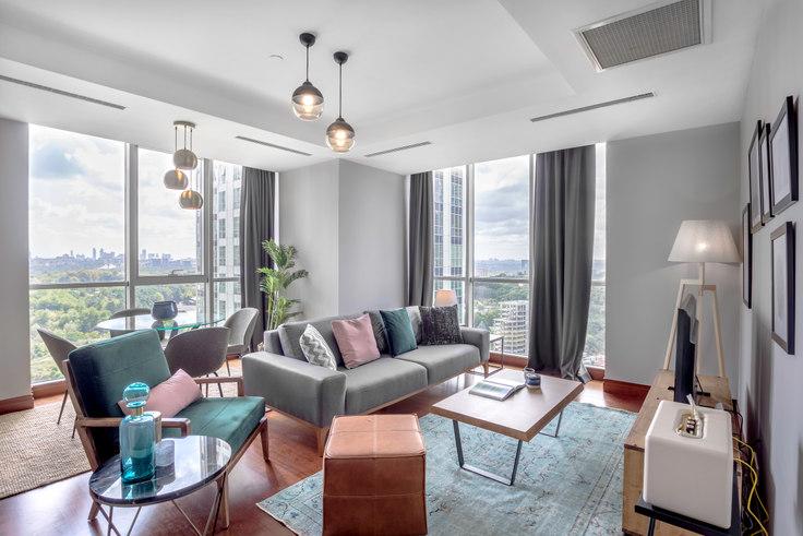 2 bedroom furnished apartment in Mashattan - 188 188, Maslak, Istanbul, photo 1