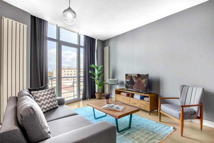 1 bedroom furnished apartment in Selenium Panorama - 189 189, Gayrettepe, Istanbul, photo 1