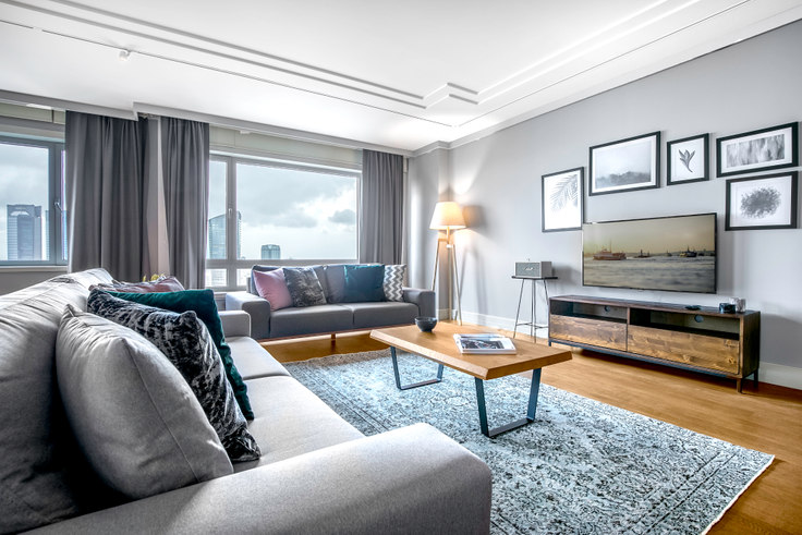 3 bedroom furnished apartment in Metrocity - 190 190, Levent, Istanbul, photo 1