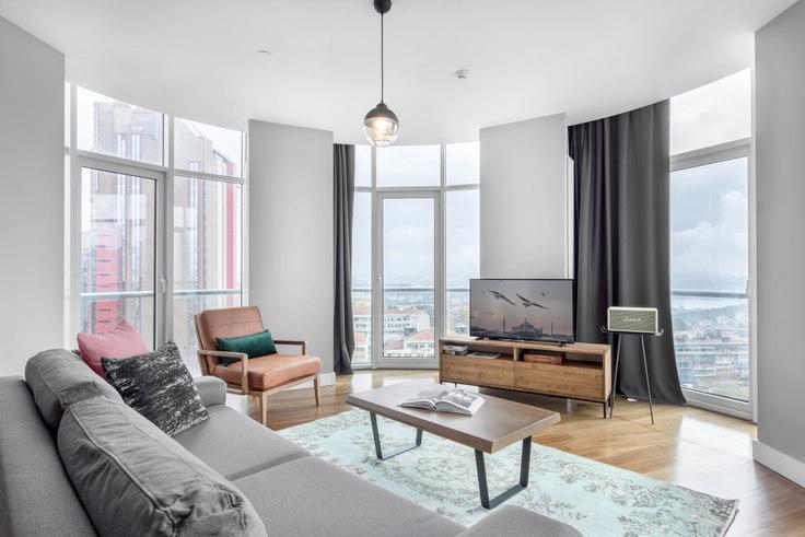 2 bedroom furnished apartment in Selenium Panorama - 191 191, Gayrettepe, Istanbul, photo 1