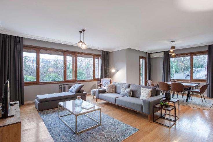 4 bedroom furnished apartment in Aktek - 193 193, Levazım, Istanbul, photo 1