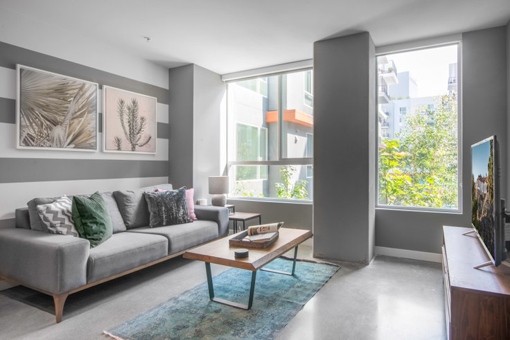Studio furnished apartment in Be DTLA, 1120 W 6th St 19, Downtown, Los Angeles, photo 1