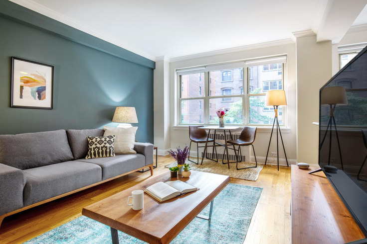 Studio furnished apartment in 41 Park Ave 203, Murray Hill, New York, photo 1