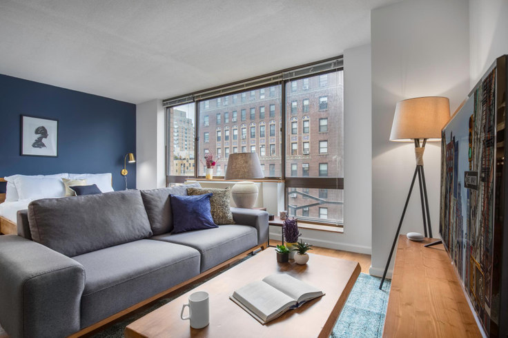Studio furnished apartment in The Sagamore, 189 W 89th St 217, Upper West Side, New York, photo 1
