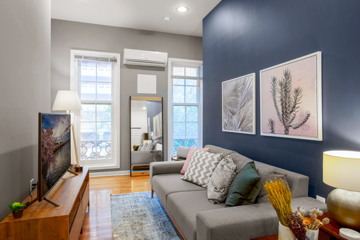 1 bedroom furnished apartment in 815 6th Street NW 11, Mount Vernon, Washington D.C., photo 1