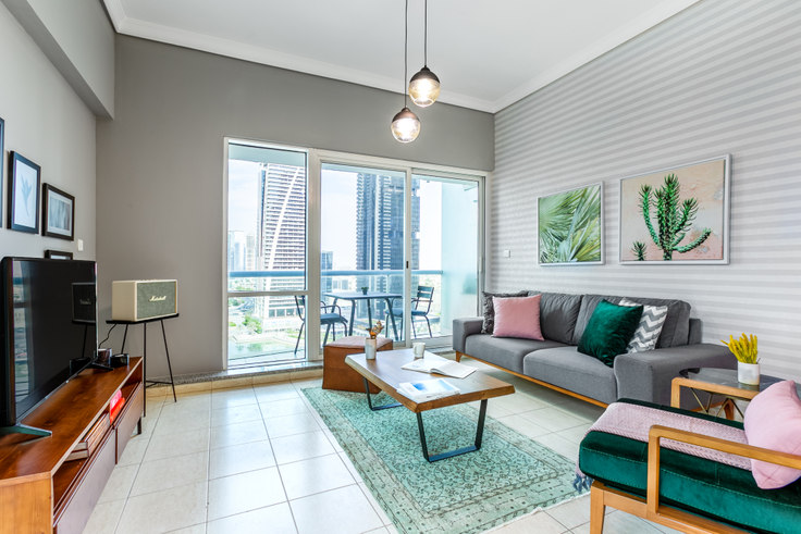 1 bedroom furnished apartment in Lake Terrace Apartment 327, Lake Terrace Tower, Dubai, photo 1
