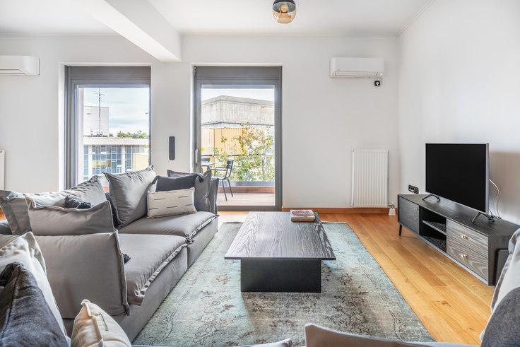 3 bedroom furnished apartment in Makedonon 568, Vasilissis Sofias Avenue, Athens, photo 1