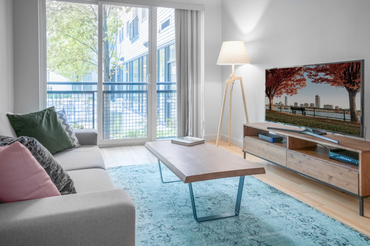 Studio furnished apartment in West Square, 320 D St 17, South Boston, Boston, photo 1