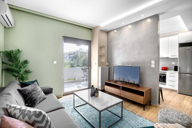 1 bedroom furnished apartment in Korai 570, Chalandri, Athens, photo 1