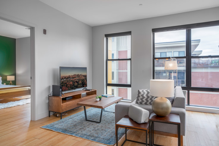 2 bedroom furnished apartment in West Square, 320 D St 18, South Boston, Boston, photo 1