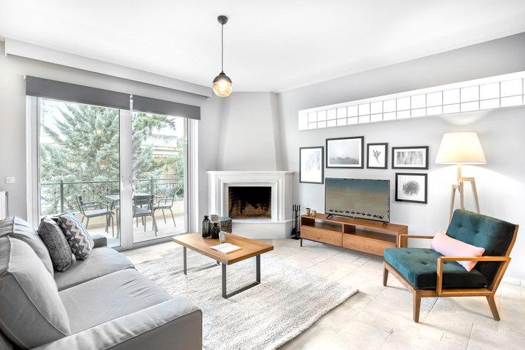 2 bedroom furnished apartment in Parou I 571, Kifisia, Athens, photo 1