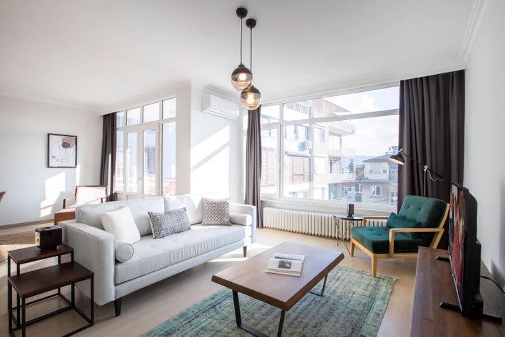 3 bedroom furnished apartment in Kent - 206 206, Bebek, Istanbul, photo 1