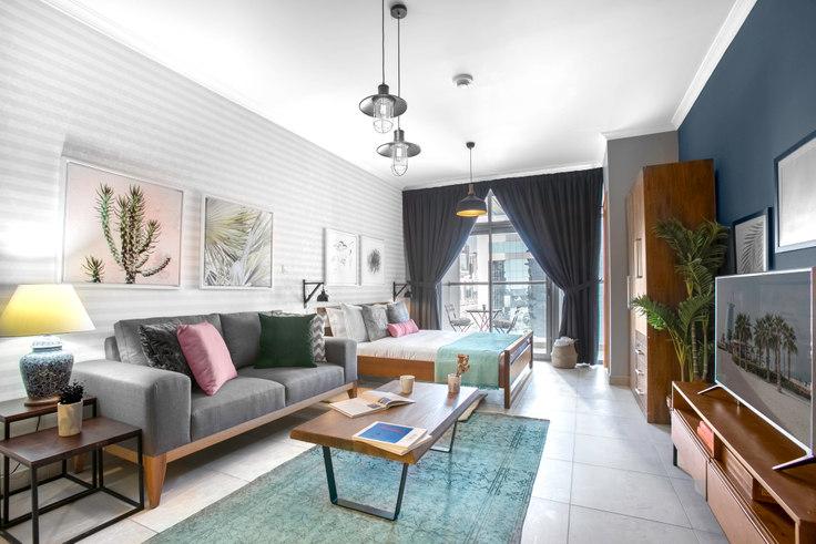 Studio furnished apartment in Global Lake View Studio 340, Global Lake View, Dubai, photo 1