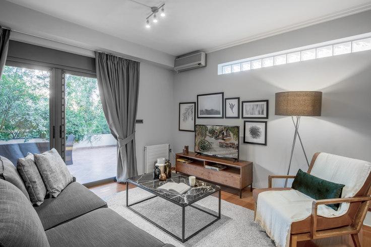 2 bedroom furnished apartment in Koritsas 574, Psychiko, Athens, photo 1