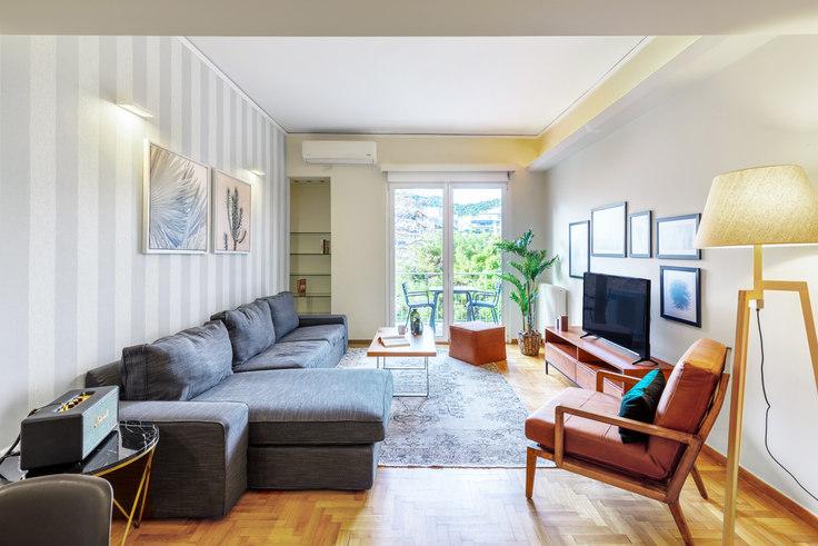 1 bedroom furnished apartment in Sisini II 575, Vasilissis Sofias Avenue, Athens, photo 1