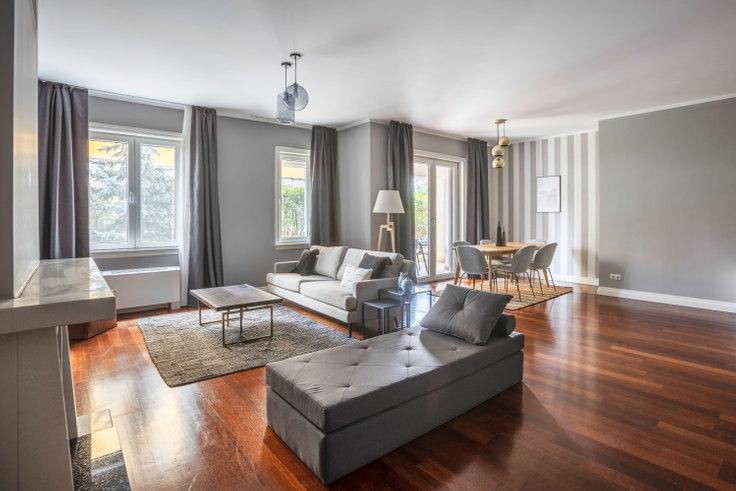 3 bedroom furnished apartment in Kemer Bahçe - 210 210, Göktürk, Istanbul, photo 1