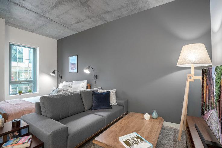 Studio furnished apartment in Proto, 88 Ames St 35, Kendall Square, Boston, photo 1