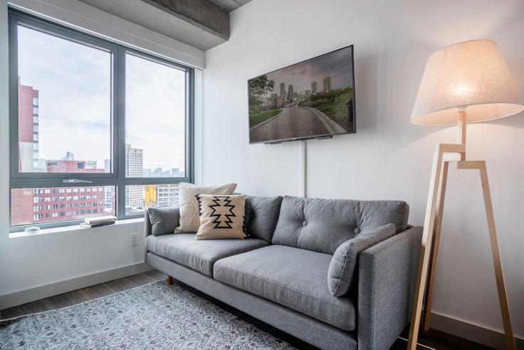 Studio furnished apartment in Proto, 88 Ames St 41, Kendall Square, Boston, photo 1
