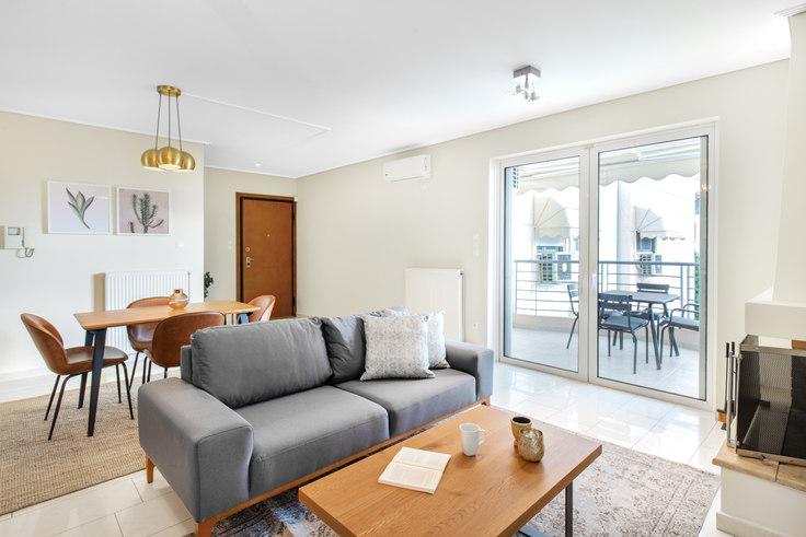 2 bedroom furnished apartment in Profitou Ilia I 584, Glyfada, Athens, photo 1