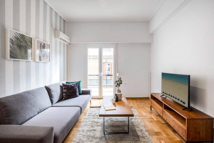 1 bedroom furnished apartment in Alkmanos II 589, Vasilissis Sofias Avenue, Athens, photo 1