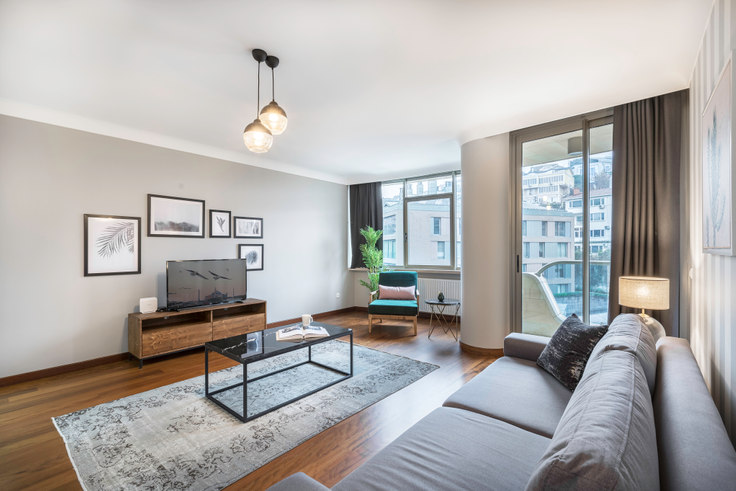3 bedroom furnished apartment in One Ortaköy - 215 215, Ortaköy, Istanbul, photo 1