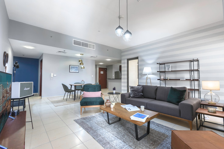 1 bedroom furnished apartment in Shams 1 Apartment I 357, Shams, Dubai, photo 1