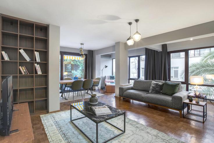 2 bedroom furnished apartment in Cevdetpaşa - 217 217, Bebek, Istanbul, photo 1