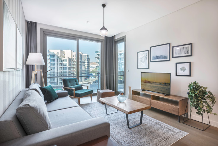 1 bedroom furnished apartment in Vadistanbul Park - 219 219, Ayazağa, Istanbul, photo 1