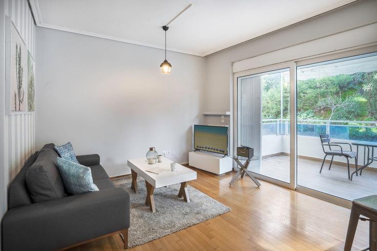 1 bedroom furnished apartment in Sarantapichou III 611, Kolonaki, Athens, photo 1