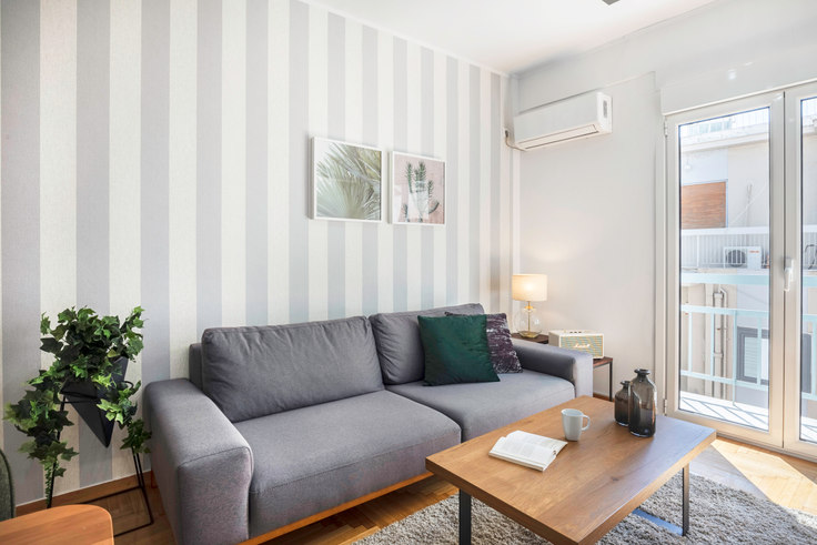 1 bedroom furnished apartment in Efstathiou Lampsa 612, Ampelokipoi, Athens, photo 1