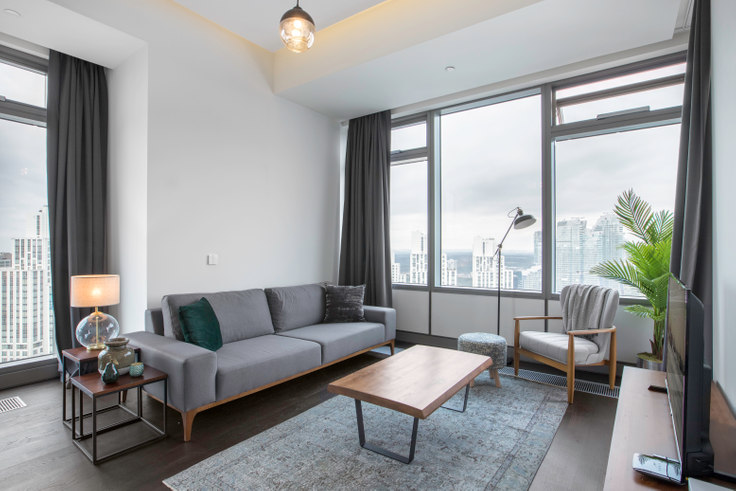2 bedroom furnished apartment in 42 Maslak Tower A - 223 223, Maslak, Istanbul, photo 1