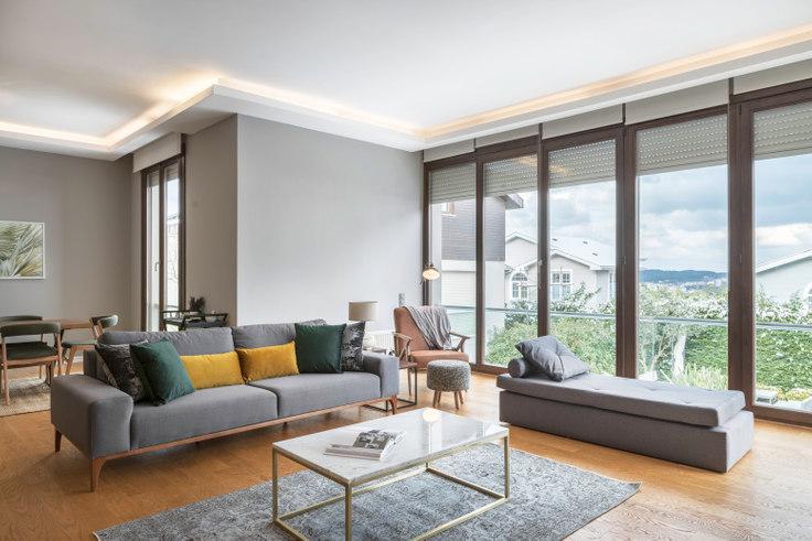4 bedroom furnished apartment in Aurapark - 224 224, Zekeriyaköy, Istanbul, photo 1