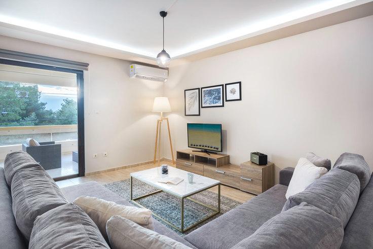 3 bedroom furnished apartment in Vasileos Pavlou V 615, Voula, Athens, photo 1