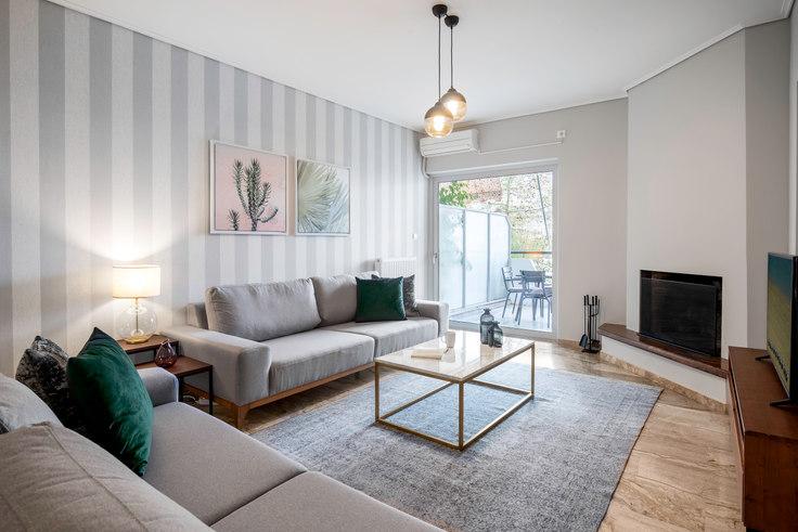 3 bedroom furnished apartment in Athanasiou Diakou IV 617, Elliniko, Athens, photo 1
