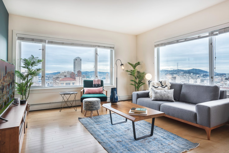 1 bedroom furnished apartment in Pinnacle at Nob Hill, 899 Pine St 85, Nob Hill, San Francisco Bay Area, photo 1