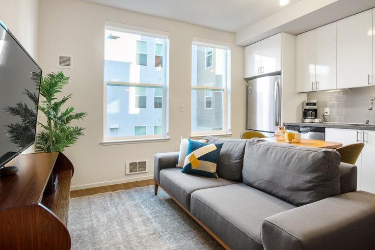 Studio furnished apartment in Avalon 400 Laguna, 400 Laguna St 87, Hayes Valley, San Francisco Bay Area, photo 1