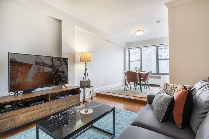 Studio furnished apartment in 10 Downing St 239, West Village, New York, photo 1