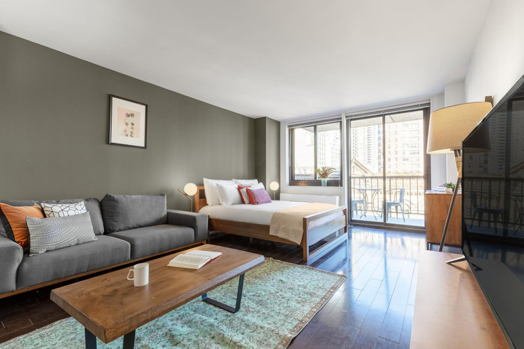 Studio furnished apartment in Wimbledon, 200 E 82nd St 240, Upper East Side, New York, photo 1