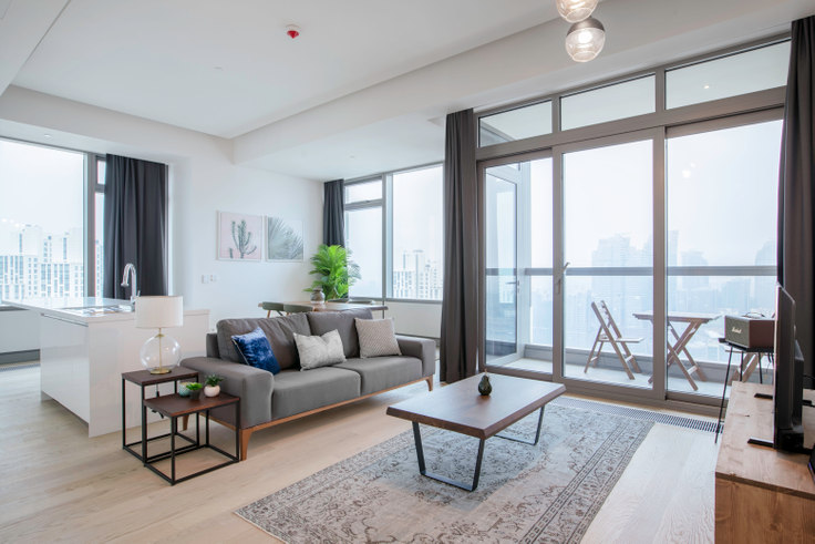 2 bedroom furnished apartment in 42 Maslak Tower B - 264 264, Maslak, Istanbul, photo 1